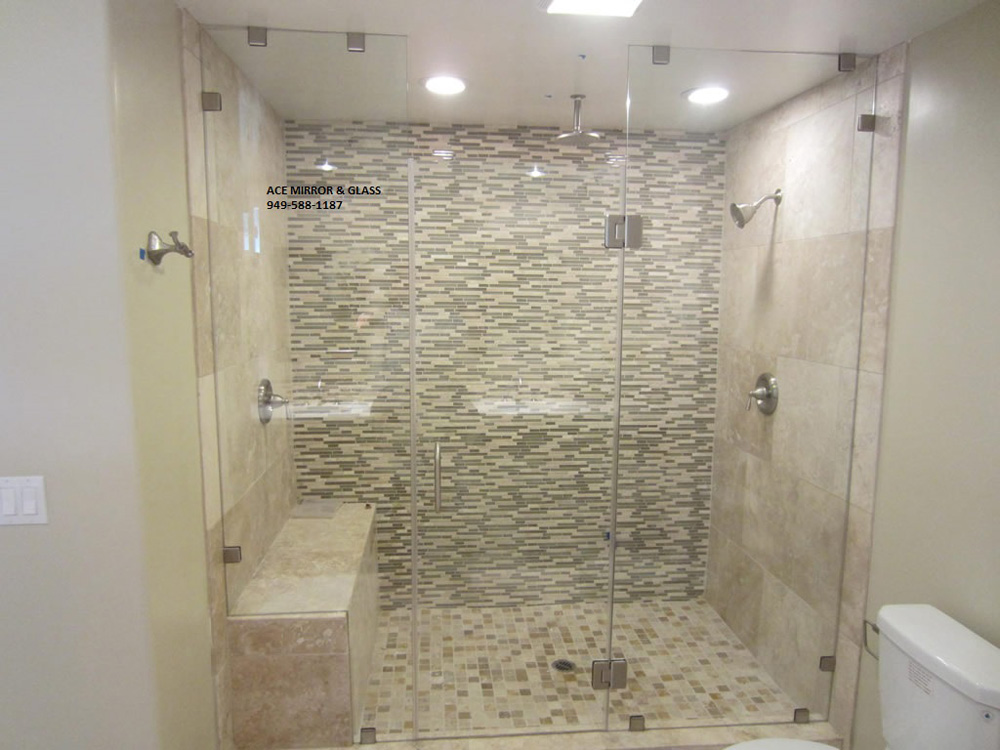 Elegant customized and unique frameless shower doors for Cool shower door ideas