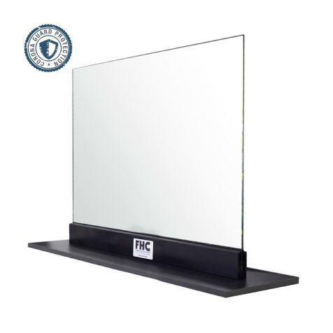 "FHC Corona Guard Screen/Partition Kit - 30"" Wide x 26-5/8"" Tall - 1/4"" Glass"