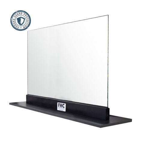 "FHC Corona Guard Screen/Partition Kit - 42"" Wide x 26-5/8"" Tall - 1/4"" Glass"