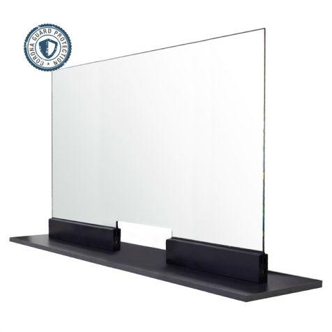 "FHC Corona Guard Screen Kit with Pass Thru - 66"" Wide x 26-5/8"" Tall - 1/4"" Glass"